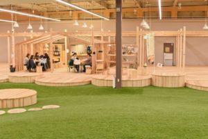 【森のわくわくの庭】木に囲まれた空間で遊べるモリワクマーケットがリニューアルオープン!!
